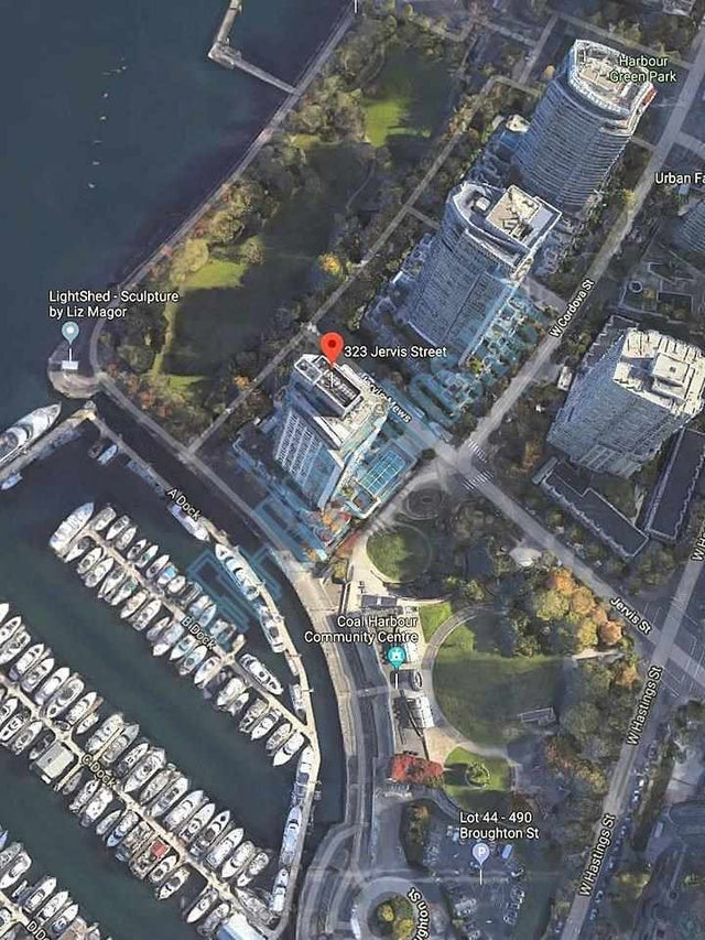 803 555 JERVIS STREET - Coal Harbour Apartment/Condo for sale, 1 Bedroom (R2559431) #19