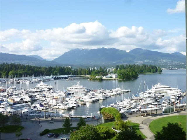 803 555 JERVIS STREET - Coal Harbour Apartment/Condo for sale, 1 Bedroom (R2559431) #1