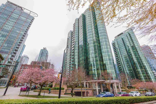 803 555 JERVIS STREET - Coal Harbour Apartment/Condo for sale, 1 Bedroom (R2559431) #2