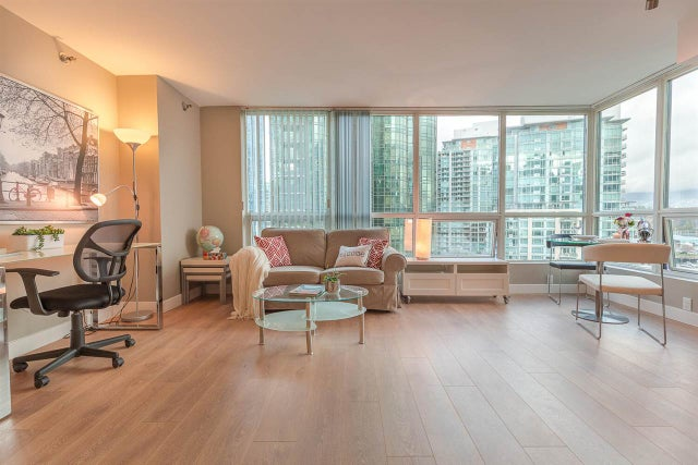 803 555 JERVIS STREET - Coal Harbour Apartment/Condo for sale, 1 Bedroom (R2559431) #4
