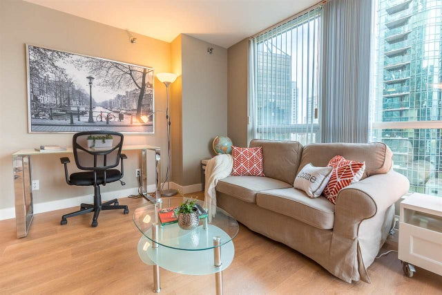 803 555 JERVIS STREET - Coal Harbour Apartment/Condo for sale, 1 Bedroom (R2559431) #6