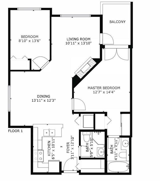 403-2755 Maple Street Vancouver BC V6J 5K1 - Kitsilano Apartment/Condo for sale, 2 Bedrooms (R2514516) #10