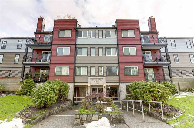 106 2344 ATKINS AVENUE - Central Pt Coquitlam Apartment/Condo for sale, 2 Bedrooms (R2132341)