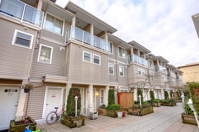 212 2432 WELCHER AVENUE - Central Pt Coquitlam Townhouse for sale, 2 Bedrooms (R2134149)