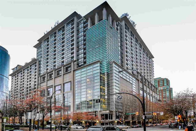 1230 933 HORNBY STREET - Downtown VW Apartment/Condo for sale, 1 Bedroom (R2120832)