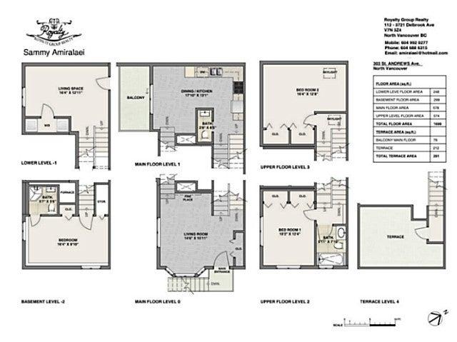 303 ST. ANDREWS AV - Lower Lonsdale Townhouse for sale, 3 Bedrooms (V1123438) #18