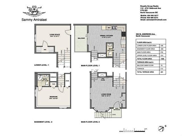303 ST. ANDREWS AV - Lower Lonsdale Townhouse for sale, 3 Bedrooms (V1123438) #19