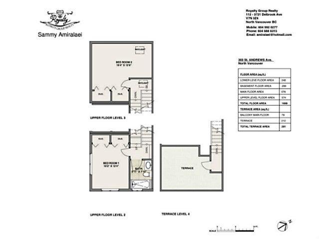 303 ST. ANDREWS AV - Lower Lonsdale Townhouse for sale, 3 Bedrooms (V1123438) #20