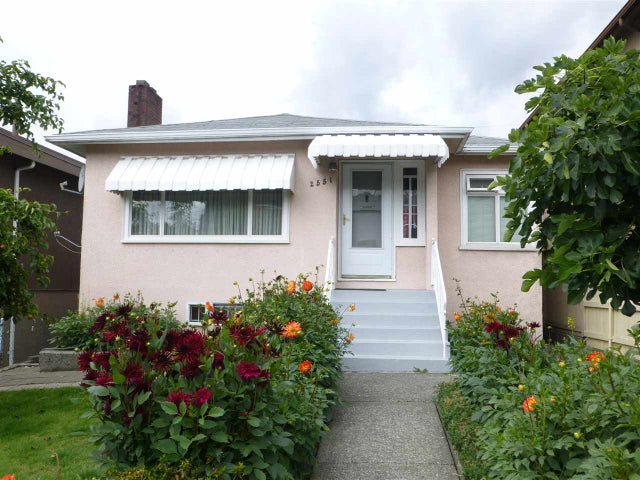 2551 RENFREW STREET - Renfrew VE House/Single Family for sale, 4 Bedrooms (R2092376)