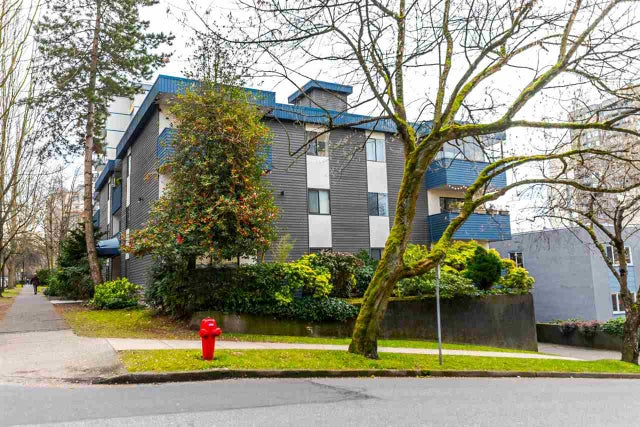 206 1396 BURNABY STREET - West End VW Apartment/Condo for sale, 1 Bedroom (R2139387)