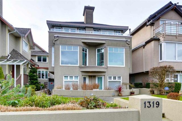 1319 Chestnut Street - Kitsilano 1/2 Duplex for sale, 2 Bedrooms (R2541897) #2
