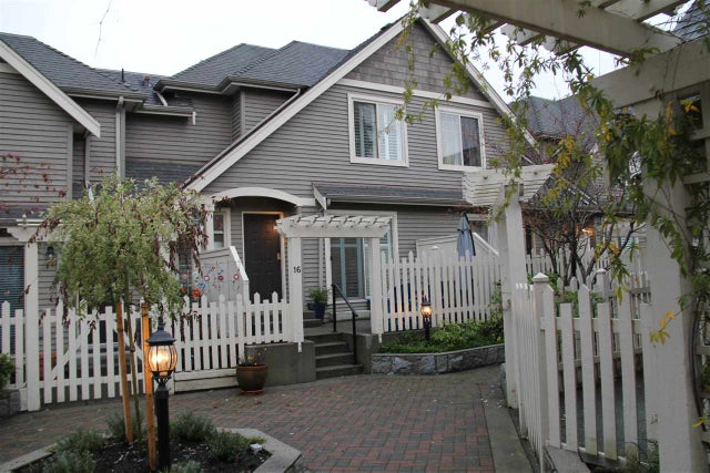 16 222 E 5TH STREET - Lower Lonsdale Townhouse for sale, 3 Bedrooms (R2225719) #1