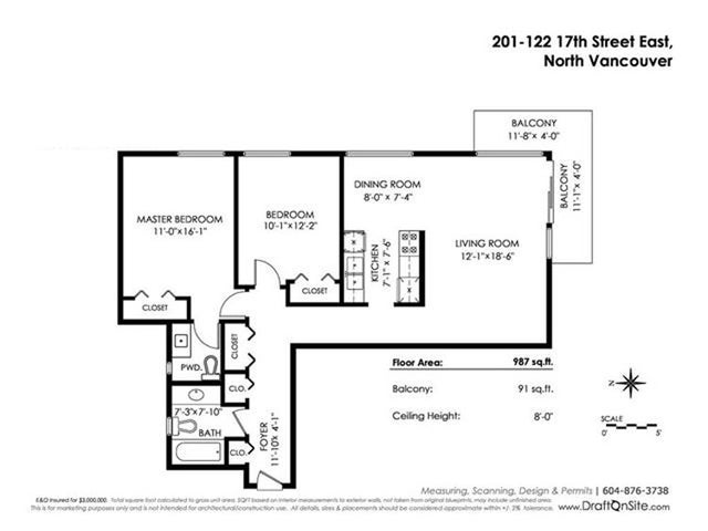 201 122 E 17TH STREET - Central Lonsdale Apartment/Condo for sale, 2 Bedrooms (R2385723) #20