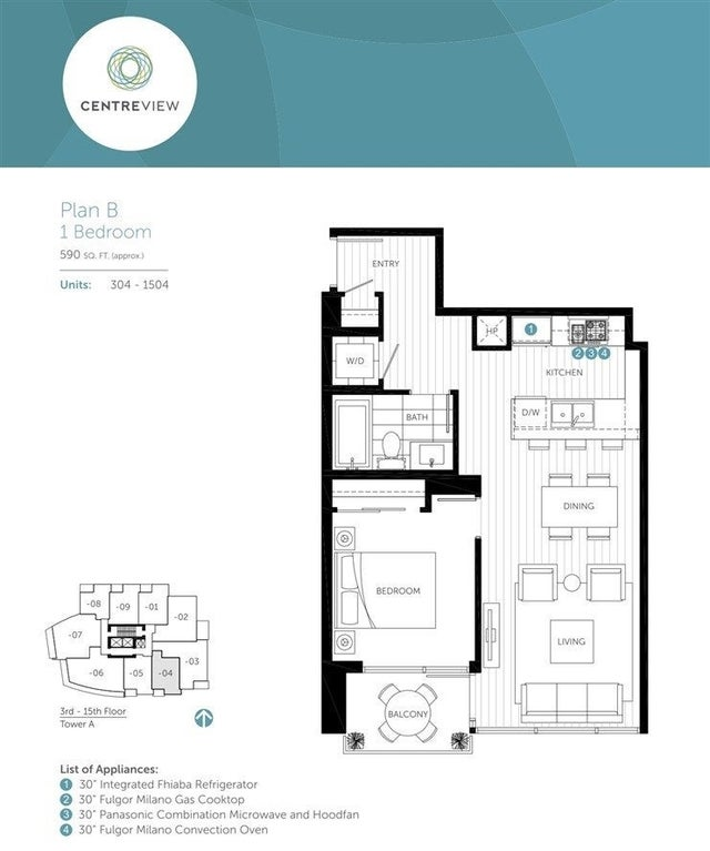 1204 112 E 13TH STREET - Central Lonsdale Apartment/Condo for sale, 1 Bedroom (R2495721) #9