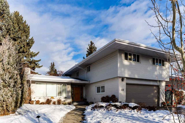 22 VALLEYVIEW Crescent - Parkview Detached Single Family for sale, 5 Bedrooms (E4145298) #1