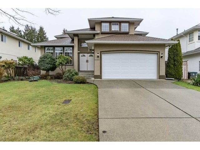 15851 80TH AVENUE - Fleetwood Tynehead House/Single Family for sale, 4 Bedrooms (R2235992) #1