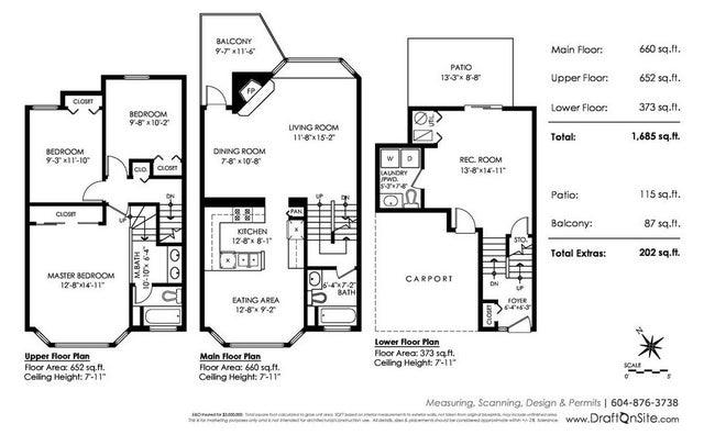 13 1195 FALCON DRIVE - Eagle Ridge CQ Townhouse for sale, 3 Bedrooms (R2263820) #19