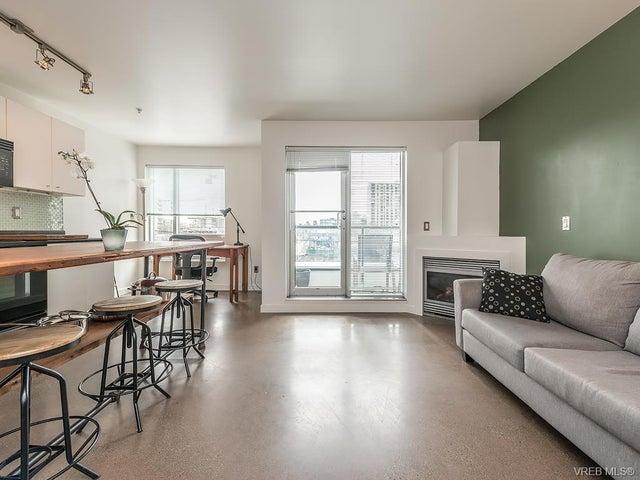 209 932 Johnson St - Vi Downtown Condo Apartment for sale, 1 Bedroom (374997) #1