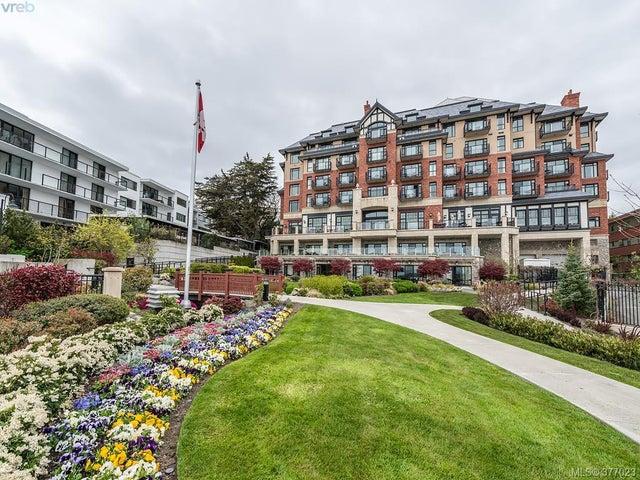 406 1175 Beach Dr - OB South Oak Bay Condo Apartment for sale, 1 Bedroom (377023) #1