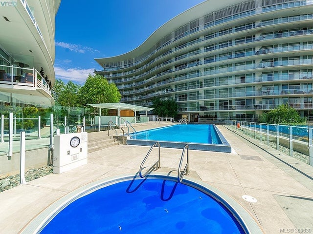 109 68 Songhees Rd - VW Songhees Condo Apartment for sale, 2 Bedrooms (380639) #19