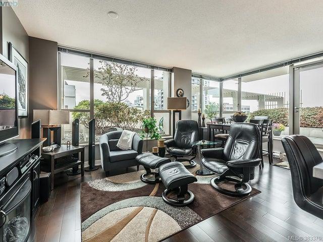 502 760 Johnson St - Vi Downtown Condo Apartment for sale, 1 Bedroom (383370) #1