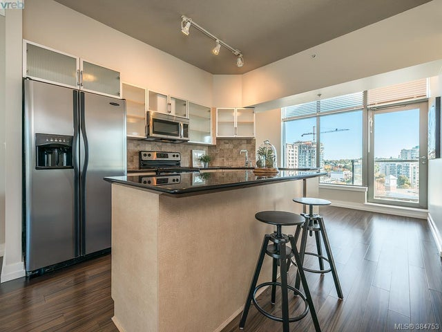 1011 845 Yates St - Vi Downtown Condo Apartment for sale, 2 Bedrooms (384753) #6