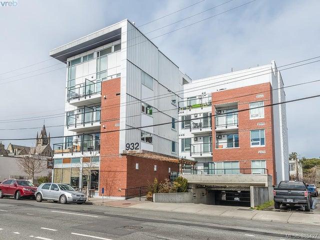 104 932 Johnson St - Vi Downtown Condo Apartment for sale, 1 Bedroom (385427) #1