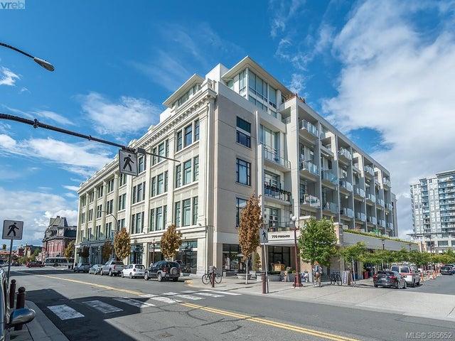 307 770 Fisgard St - Vi Downtown Condo Apartment for sale, 1 Bedroom (385652) #1