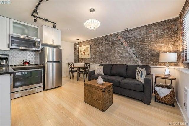 102 535 Fisgard St - Vi Downtown Condo Apartment for sale, 1 Bedroom (390191) #1