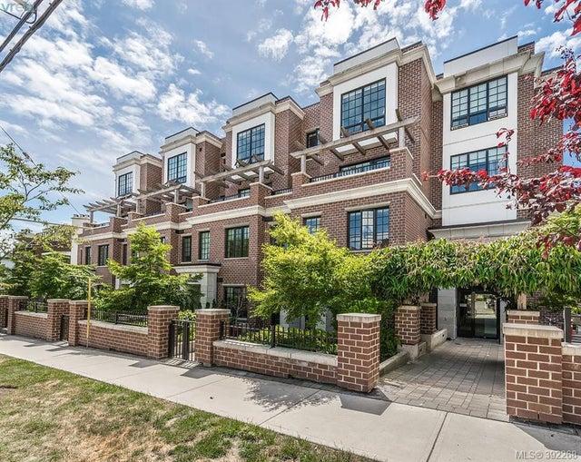 306 1011 Burdett Ave - Vi Downtown Condo Apartment for sale, 1 Bedroom (392268) #1