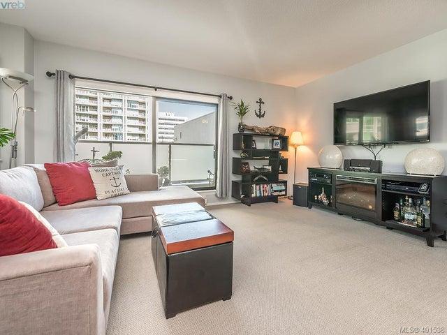 206 770 Cormorant St - Vi Downtown Condo Apartment for sale, 2 Bedrooms (401538) #1
