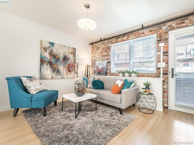 202 535 Fisgard St - Vi Downtown Condo Apartment for sale, 1 Bedroom (404699) #3