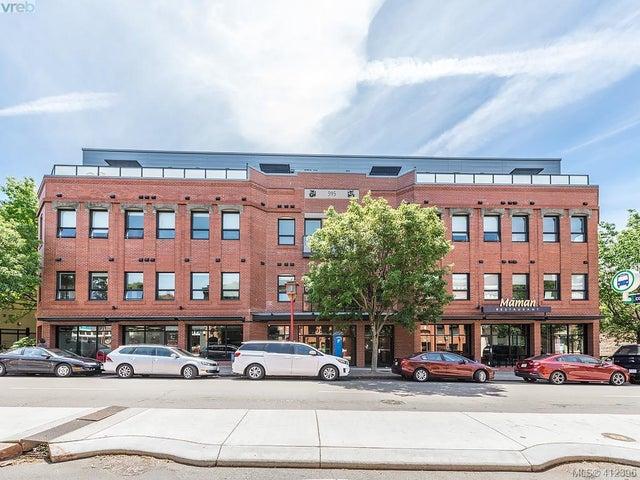 203 595 Pandora Ave - Vi Downtown Condo Apartment for sale, 2 Bedrooms (412396) #1
