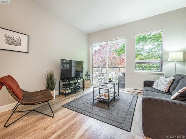 203 595 Pandora Ave - Vi Downtown Condo Apartment for sale, 2 Bedrooms (412396) #2