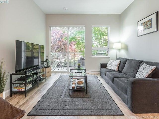 203 595 Pandora Ave - Vi Downtown Condo Apartment for sale, 2 Bedrooms (412396) #3