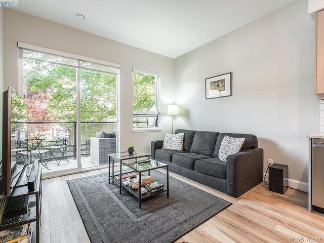 203 595 Pandora Ave - Vi Downtown Condo Apartment for sale, 2 Bedrooms (412396) #4
