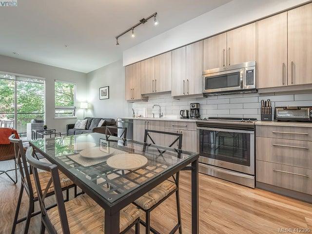 203 595 Pandora Ave - Vi Downtown Condo Apartment for sale, 2 Bedrooms (412396) #5