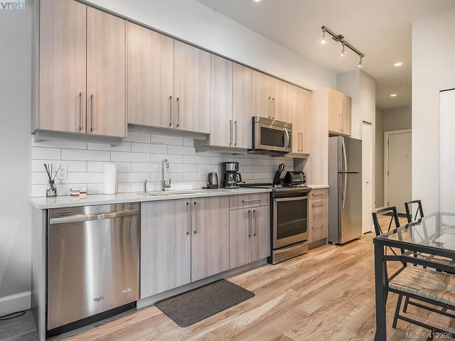 203 595 Pandora Ave - Vi Downtown Condo Apartment for sale, 2 Bedrooms (412396) #9