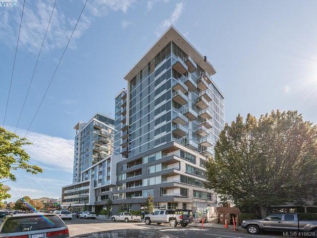 604 989 Johnson St - Vi Downtown Condo Apartment for sale, 1 Bedroom (416629) #1