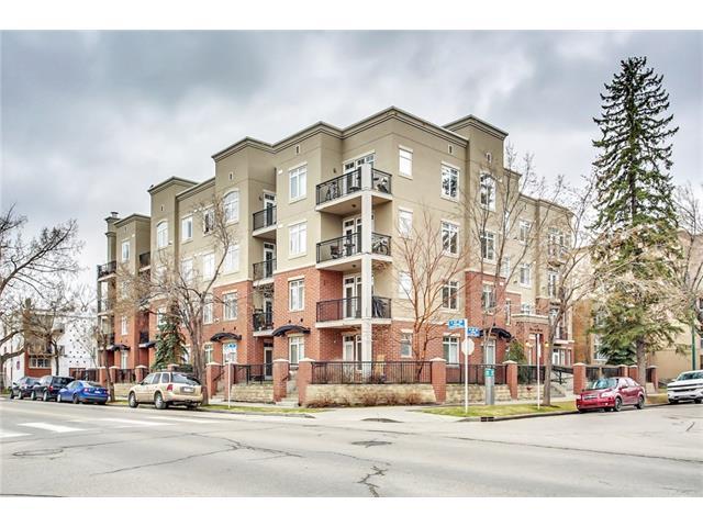 #105 303 19 AV SW - Mission Lowrise Apartment for sale, 1 Bedroom (C4112112)