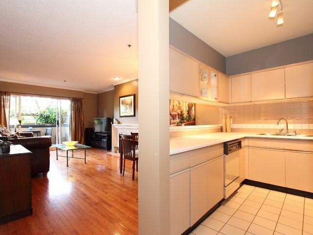 105 - 1963 West 3rd Avenue, Vancouver West, Kitsilano - Kitsilano Apartment/Condo for sale, 1 Bedroom (V868400) #5