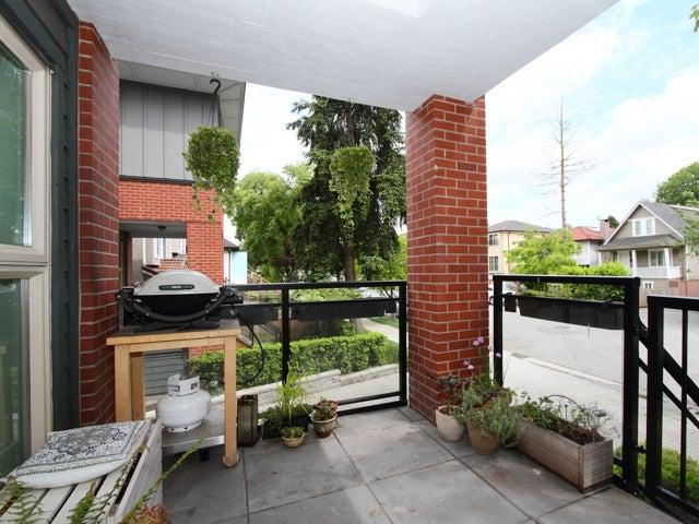 717 - East 20th Avenue Vancouver - Fraser VE Townhouse for sale, 2 Bedrooms (V1009388) #14