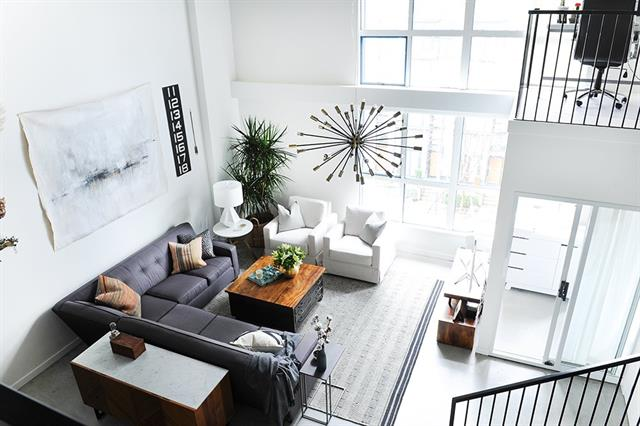301 - 1238 Seymour Street, Vancouver - Downtown VW LOFTS for sale, 2 Bedrooms (R2168508) #1