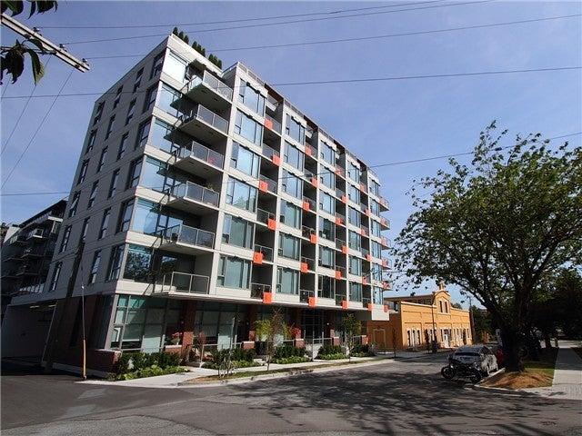 707-251 East 7th Avenue, Vancouver - Mount Pleasant VE Apartment/Condo for sale, 1 Bedroom  #10