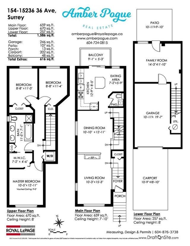 154 15236 36 AVENUE - Morgan Creek Townhouse for sale, 3 Bedrooms (R2230604) #20