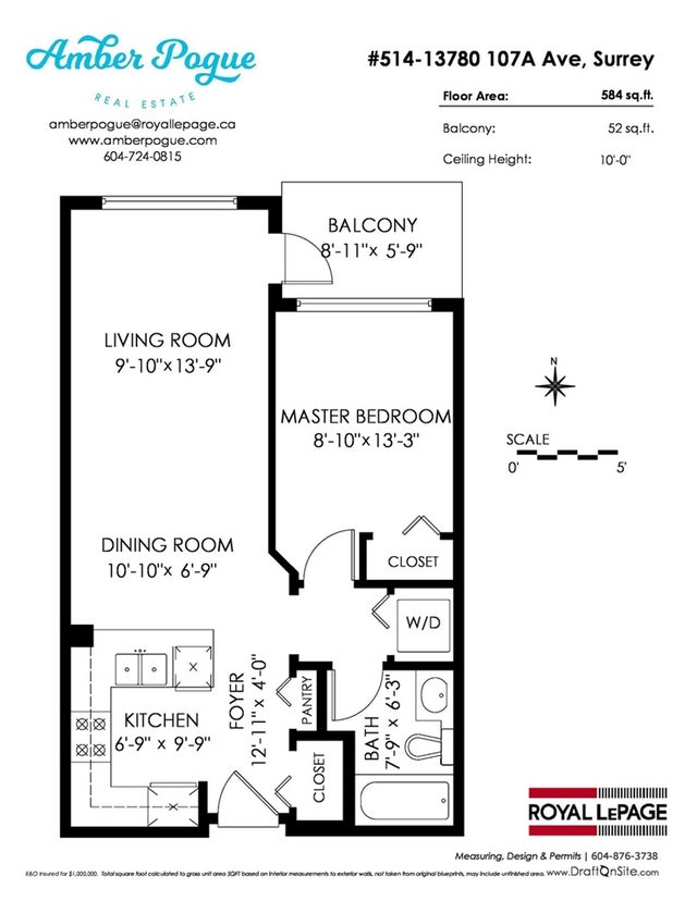514 13789 107A AVENUE - Whalley Apartment/Condo for sale, 1 Bedroom (R2232405) #19