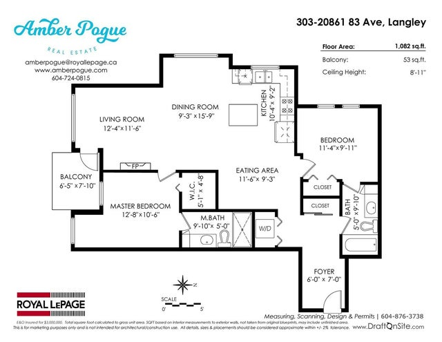 303 20861 83 AVENUE - Willoughby Heights Apartment/Condo for sale, 2 Bedrooms (R2271904) #19