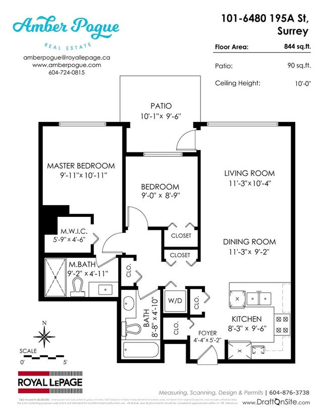 101 6480 195A STREET - Clayton Apartment/Condo for sale, 2 Bedrooms (R2288333) #20