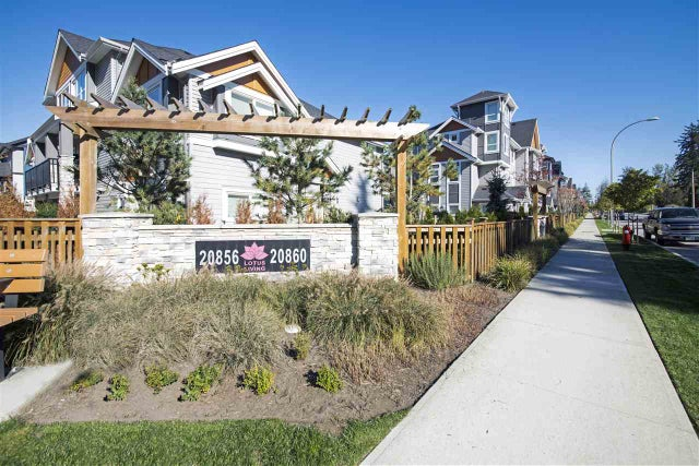 91 20860 76 AVENUE - Willoughby Heights Townhouse for sale, 3 Bedrooms (R2337859) #1