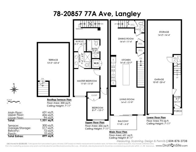 78 20857 77A AVENUE - Willoughby Heights Townhouse for sale, 2 Bedrooms (R2386879) #20